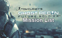 TC's Ghost Recon Future Soldier mission list