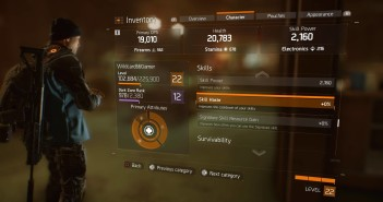The Division: Skill Haste