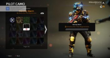 Titanfall 2 Pilot Regeneration - Pilot and Weapon Camo
