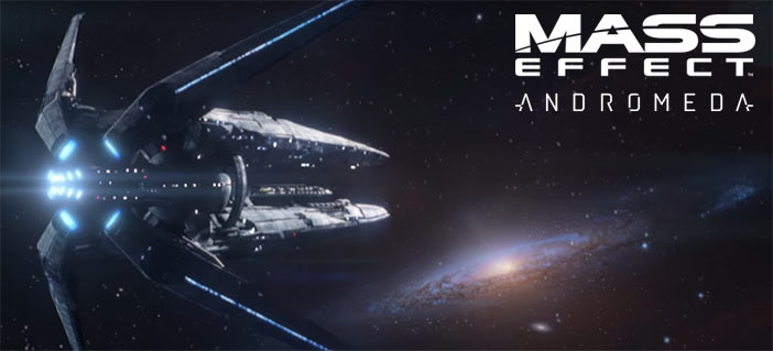 An Ark ship, probably Hyperion, in Mass Effect Andromeda