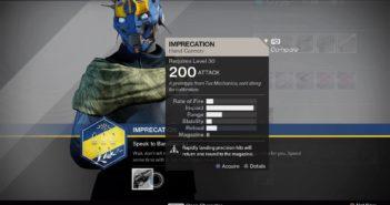 Imprecation 200 ATK Hand Cannon