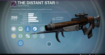 The Distant Star: Iron Ranged Scope