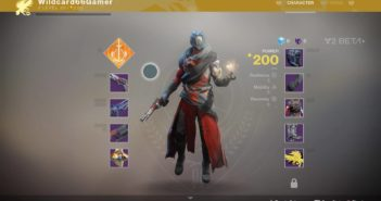 Destiny 2 (Beta) Character Screen Stats: Resilience, Mobility & Recovery