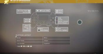 Destiny 2 Controls (Beta)