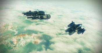 Destiny 2 Beta (Flying in space)
