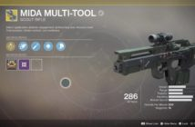 MIDA Multi-Tool in Destiny 2