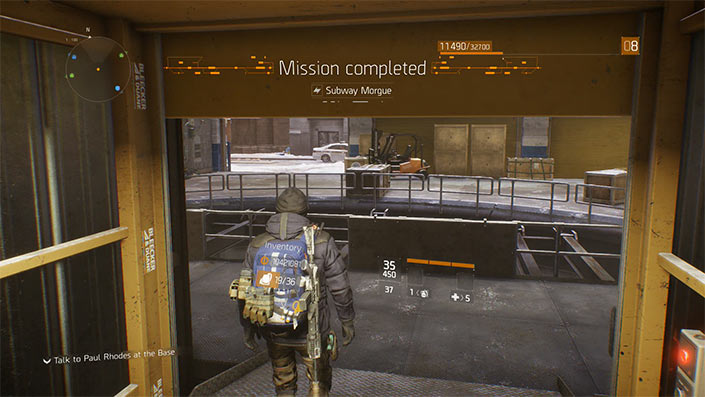 Pual Rhodes mission glitch fix
