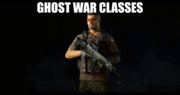 Ghost War Classes