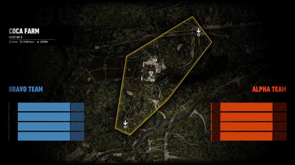 Ghost War PvP Map: Coca Farm