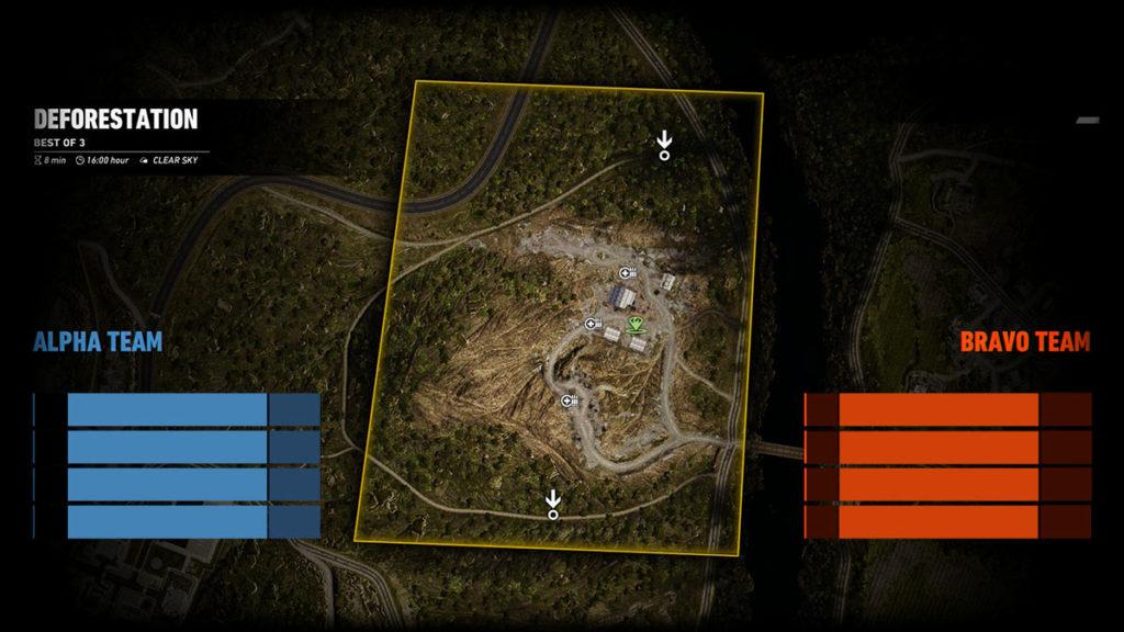 Ghost War PvP Map: Deforestation