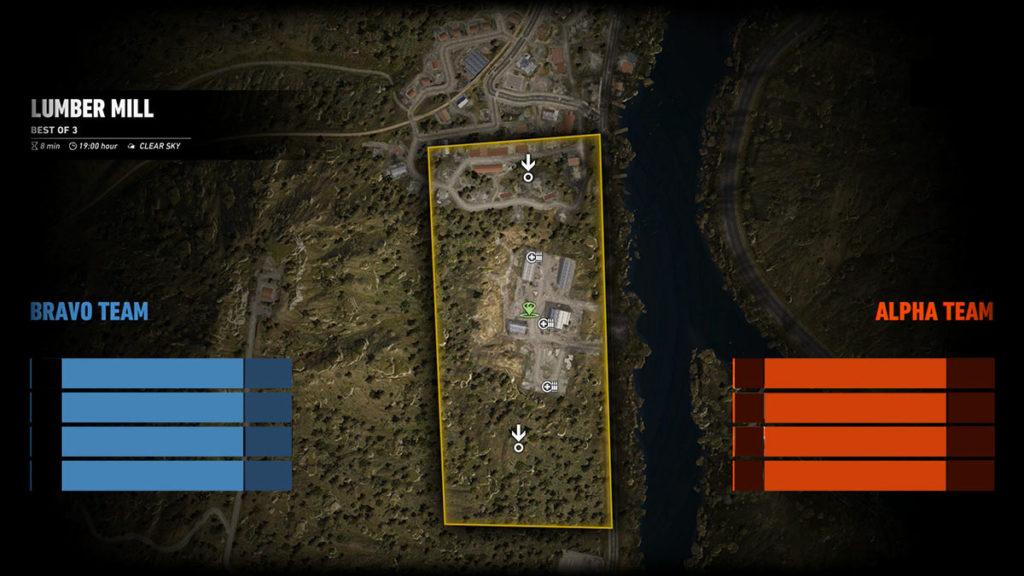 Ghost War PvP Map: Lumber Mill