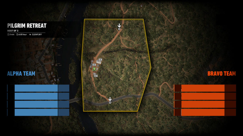 Ghost War PvP Map: Pilgim Retreat