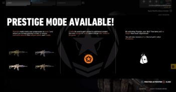 Ghost War Prestige Mode Available (lvl 50)